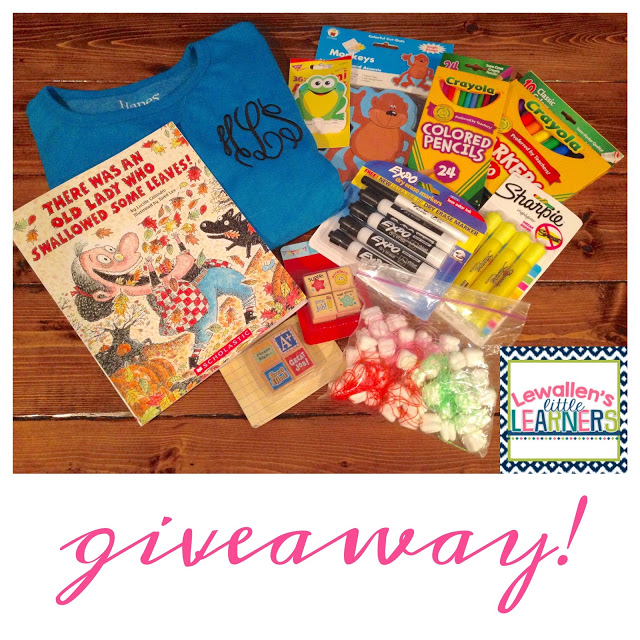 GIVEAWAY! & Math Work Stations
