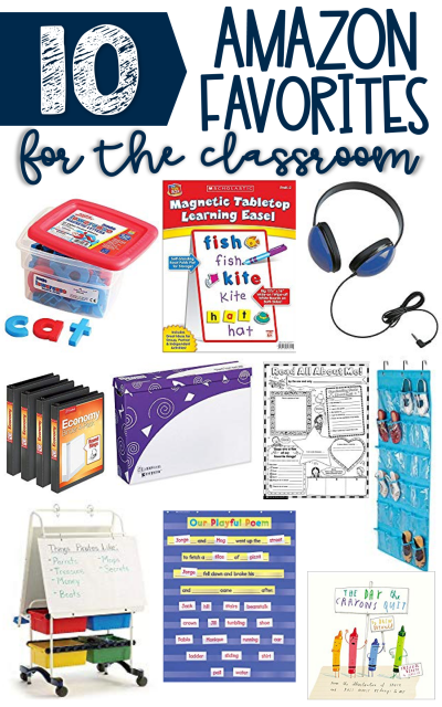 10 Amazon Favorites for the Classroom