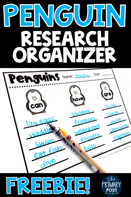 Penguin Research FREEBIE